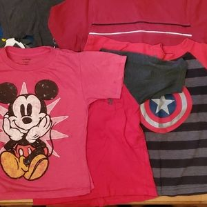 Lot of 6 boys shirts, size 5/5t